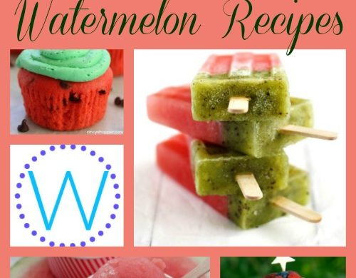 A-Z Roundup Watermelon Recipes