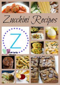 A-Z Roundup Zucchini Recipes