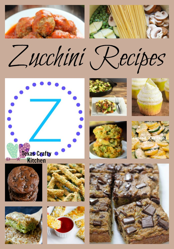 A-Z Roundup Zucchini Recipes