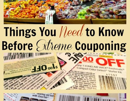 Things You Need to Know Before Extreme Couponing