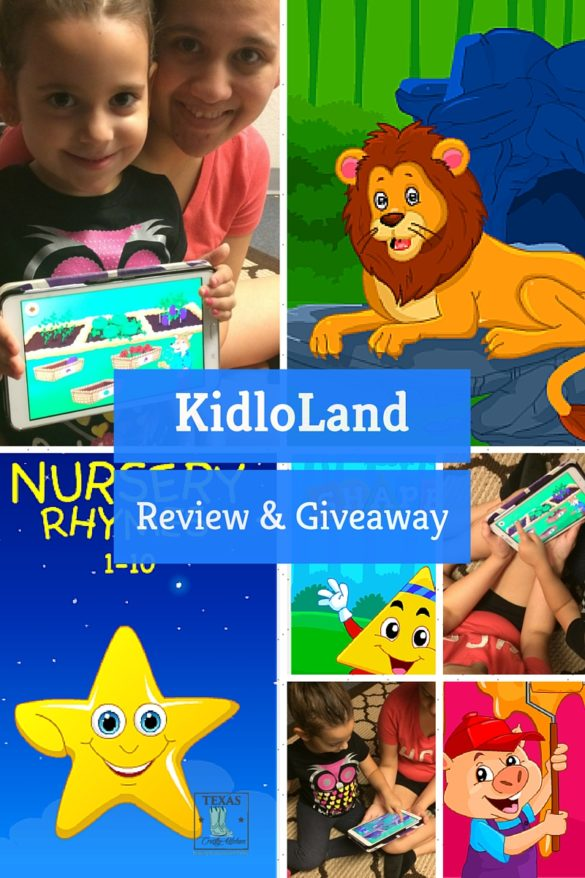 KidloLand Review & Giveaway