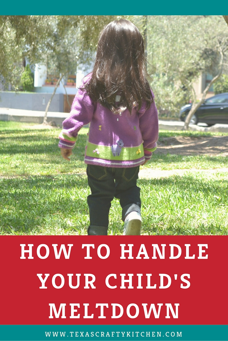 How to Handle Your Child's Meltdown_Pinterest
