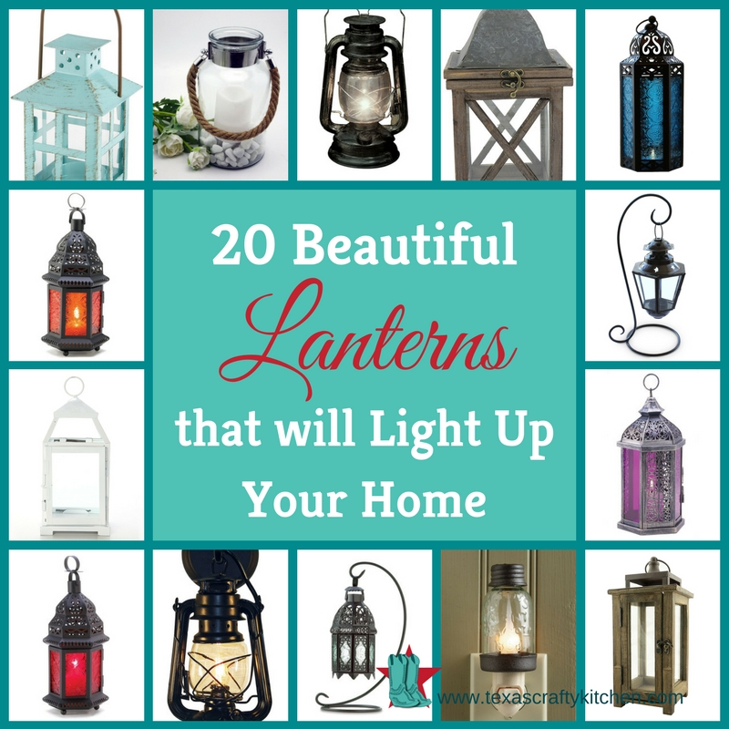 20 Beautiful Lanterns that will Light Up Your Home