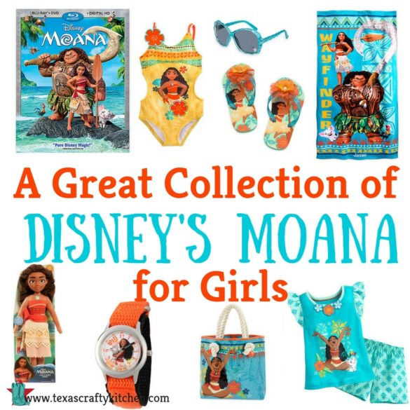 A Great Collection of Disney's Moana for Girls. Does your daughter love Disney's Moana? Here are several Moana items that any girl would love!
