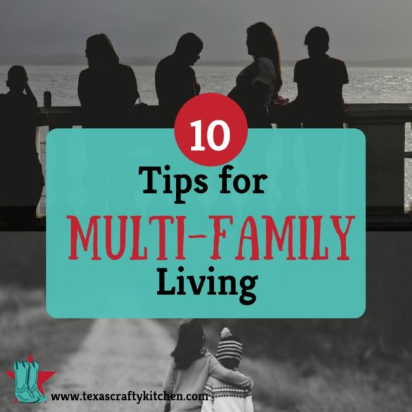 10 Tips for Multi-Family Living. There are many out there that have generational living conditions. These tips will help you with your living conditions. They are also great tips for any family situation.