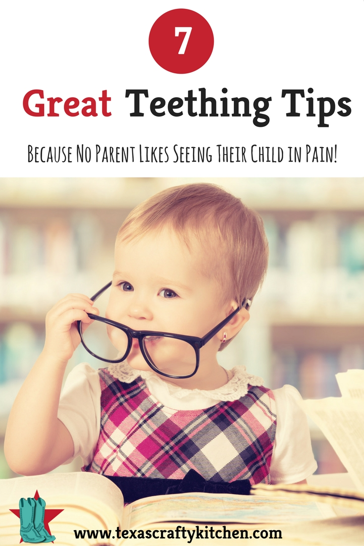 7 Great Teething Tips. Don't we all look for those teething tips to help our little ones! There are few things in life that are a frustrating and heartbreaking as watching your baby or child in pain.