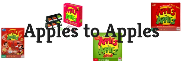 Making Great Family Memories Apples to Apples