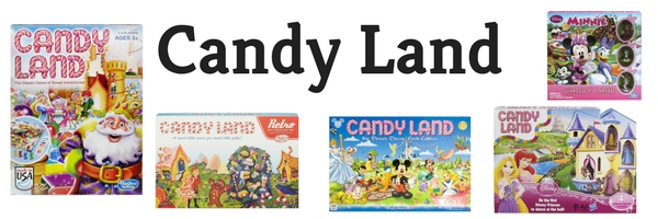 Making Great Family Memories Candy Land