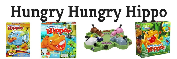Making Great Family Memories Hungry Hungry Hippo