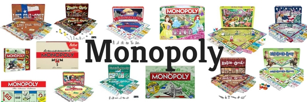 Making Great Family Memories Monopoly