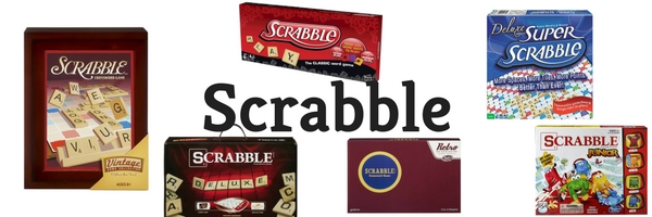Making Great Family Memories Scrabble
