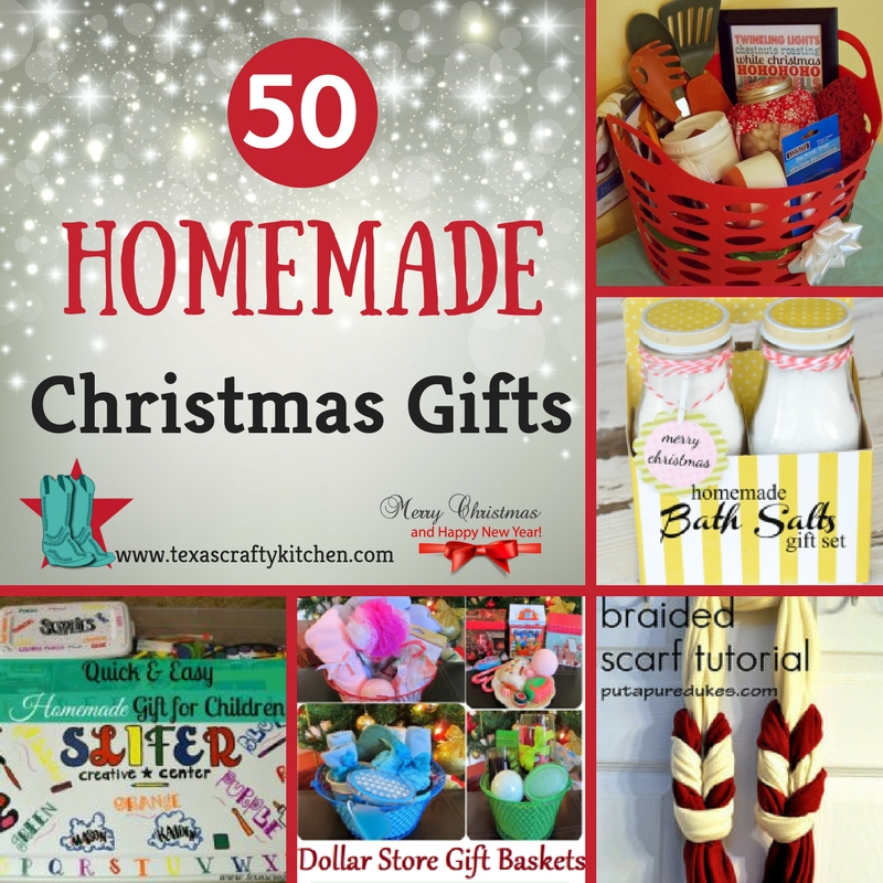 Great Diy Christmas Gift: 50 Homemade Christmas Gifts